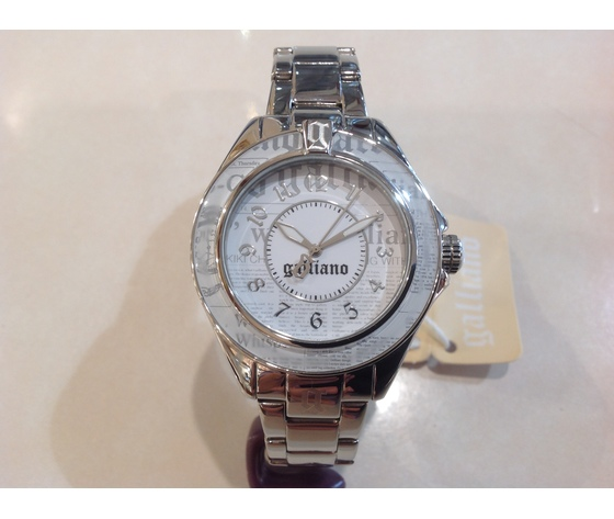 Orologio donna Galliano date keeper 3H whaite dial bracelet