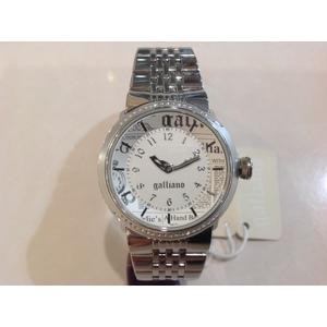 Orologio donna Galliano lady   2h Silver White dial bracelet