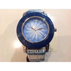 Orologio donna Galliano colourist 3h blue dial/strap