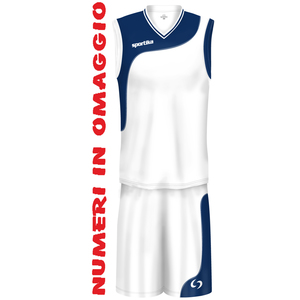 SET BASKET SPORTIKA - CHICAGO (IN DIVERSI COLORI)