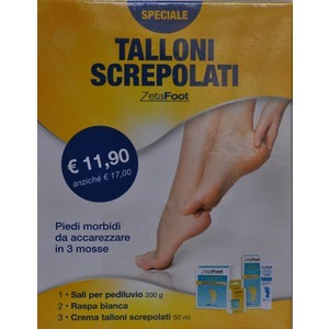 Zetafoot kit talloni screpolati