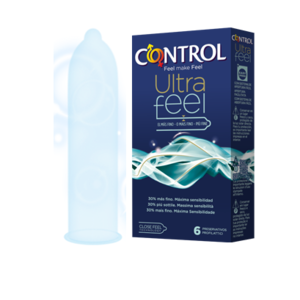 Profilattici control Ultra feel 6 Pezzi