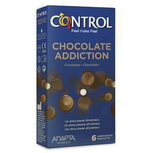 Profilattici Control Chocolate Addiction 6 Pezzi