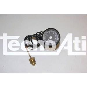 MANOMETRO CAPILLARED37 SCALA 0/4 BAR NERO 91400110 RICAMBIO COMPATIBILE