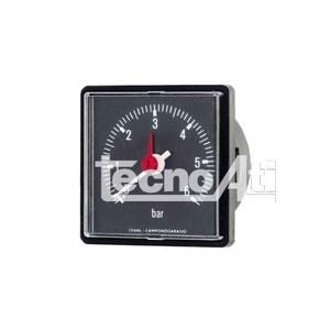 MANOMETRO CAPILLARED52 SCALA 4 BAR 1/4 QUADRATO 91400424 RICAMBIO COMPATIBILE