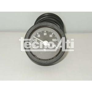 TERMOMETRO CAPILLARET52P NERO TONDO 0-120 91312110 RICAMBIO COMPATIBILE