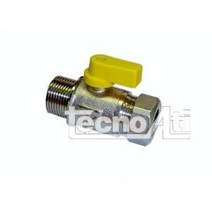 VALVOLA SFERA PER GAS DIRITTA 1/2x14 RDMOR1/2x14 M. RICAMBIO COMPATIBILE