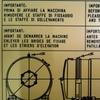Targa tecnica identificativa per macchinari