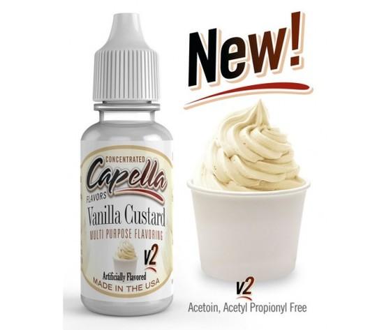 Aroma Concentrato Vanilla Custard v2 – 13ML