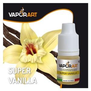vaporart Super Vanilla. Un mix di 3 Vaniglie differenti, il profumo delle bacche e la giusta cremosità.