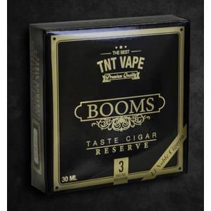 TNT VAPE BOOMS RESERVE La versione Riserva del Famoso BOOMS, con aroma barricato e confezioni esclusive numerate uno per uno