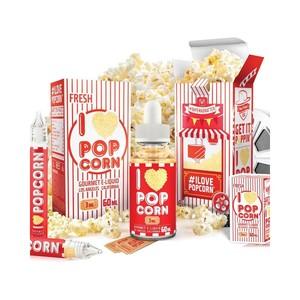 Mad Hatter Juice presenta il suo I Love Popcorn una cascata di croccanti e freschi Popcorn ricoperti da burro fuso.