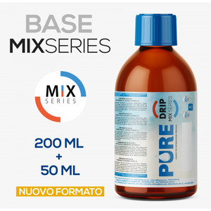 E-LIQUID BASE MIX SERIES (TPD IT) NIC MASTER STANDARD - 200 ML 0% - 50%-40%-10%