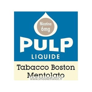 PULP Tabacco Boston Mentolato