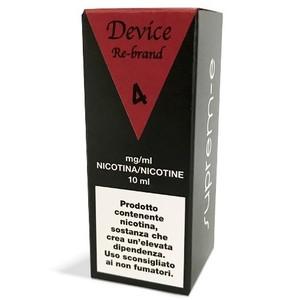 E-LIQUID SUPREME DEVICE RE-BRAND- 10 Ml