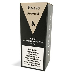 E-LIQUID BACIO REBRAND - 10 ML