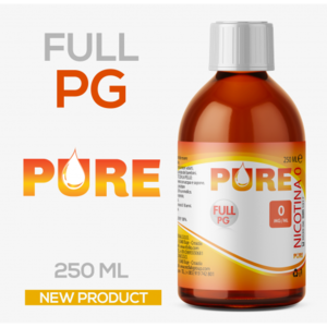 FULL PG PURE - 250 ML GLICOLE, GLICEROLO, VG, PG