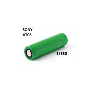 Sony VTC6 18650 3120 mAh 30A polo piatto