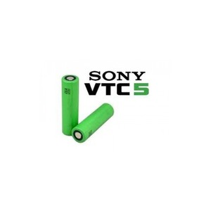 Sony VTC5 18650 2600 mAh 30A polo piatto