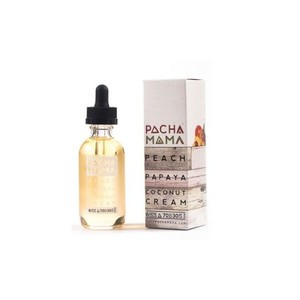 PACHA MAMA - Peach Papaya and Coconut Cream Shake & Vape 60ml