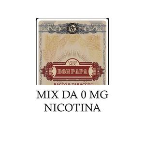 s Bacco & Tabacco - DON PAPA MIX (LIQUIDO 40 ML + 2 BASI DA 10 ML NICOTINA)