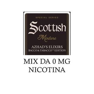 Azhad's Elixirs Bacco & Tabacco SCOTTISH MIX (LIQUIDO 40 ML + 2 BASI DA 10 ML NICOTINA)