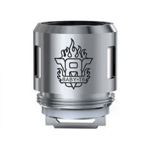 SMOK V8 BABY-T6 CORE,   0.2ohm Sextuple coils, supports 40 - 130W wattage