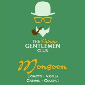 The Vaping Gentlemen Club -Monsoon: Tabacco & Vaniglia,Caramello,Cocco ""