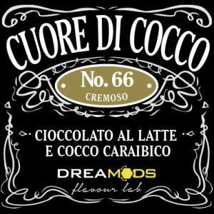 DREAMODS - Cuore di Cocco No.66 Aroma Concentrato 10 ml