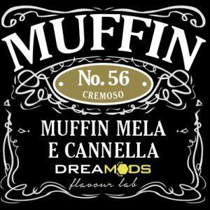 Aroma concentrato di Muffin Mela e Cannella in flacone di vetro da 10ml. Utilizzare esclusivamente miscelato. Diluizione consigliata dal 10%-13%.
