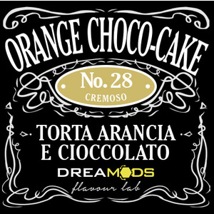 DREAMODS - Orange Choco Cake No.28 Aroma Concentrato 10 ml