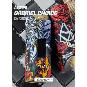 GABRIEL CHOICE 80W BOX MOD - ASVAPE, LEGNO STABILIZZATO, MOD,BIG BATTERY, ARTE, SMOKIES FIRENZE, SVAPOS, ROSSELLA LA REGINA
