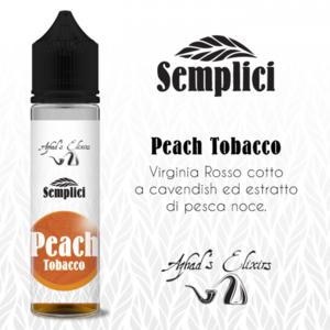 Azhad's Scomposto 20ml - Semplici - Peach Tobacco