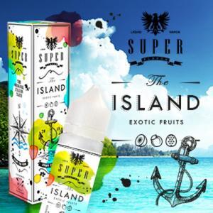 SuperFlavor THE ISLAND 50ml Mix&vape