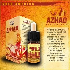 Azhad aroma GOLD AMERICA Non Filtrato 10 ML