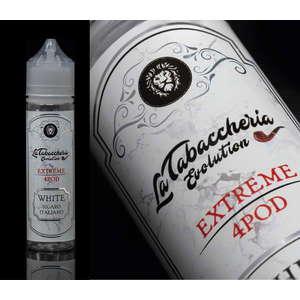 LA TABACCHERIA - Estratto di Tabacco – Extreme 4Pod – White Sigaro Italiano 20ml