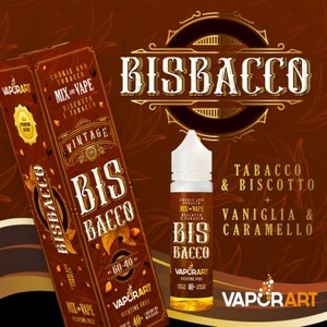 VAPORART BISBACCO 40 ML + 20ml Mix&Vape
