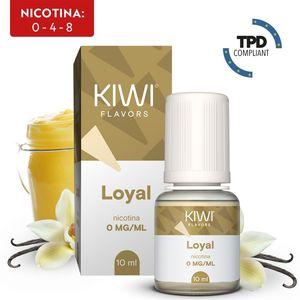 E-LIQUID KIWI VAPOR - LOYAL 10 ML