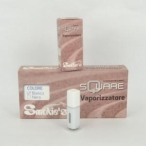 SMOKIE'S Vapor square bianco