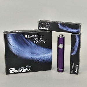 SMOKIE'S Batteria viola blow