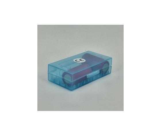 Porta batterie blu