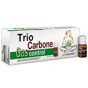 Trio carbone Gas Control 7 flaconi