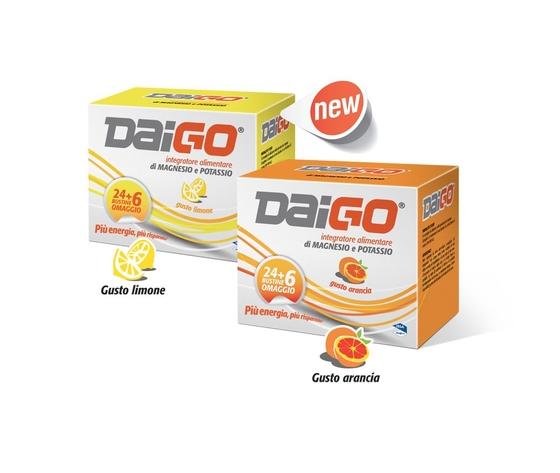 Daigo Magnesio e Potassio 24+6 bustine