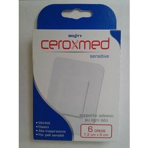 Ceroxmed Flex Sensitive cerotti 7,2 cm x 5 cm 6 pezzi