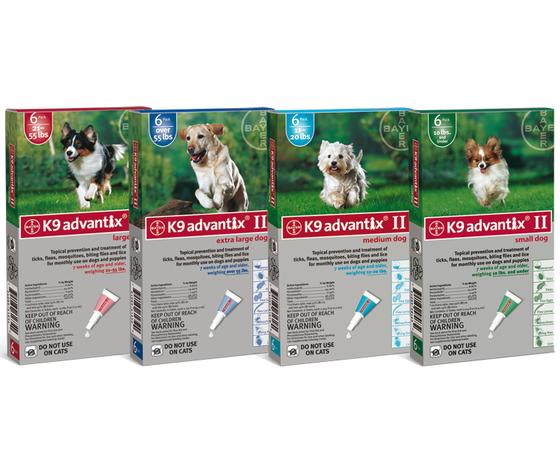 Advantix Spot On Cani 4 pipette