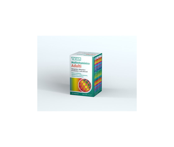 Teva Multivitaminico Adulti 30 compresse