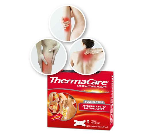 Thermacare Fasce Autoriscaldanti per tutte le parti del corpo 3 pezzi