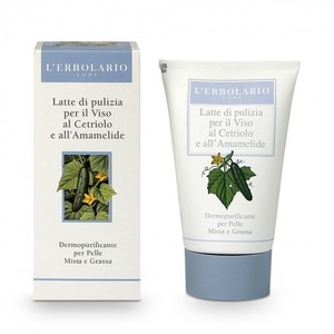Latte di Pulizia per il Viso al Cetriolo e all'Amamelide 125 ml