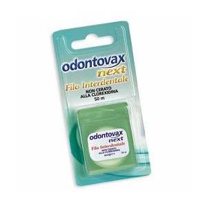 Odontovax Next Filo Interdentale Non Cerato alla Clorexidina