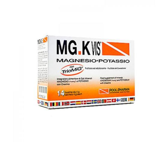 MG.K Vis Magnesio Potassio  e Creatina 14 Bustine
